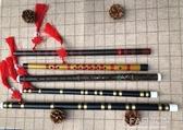 笛中舞蹈笛子蕭演出兒童影樓古裝攝影竹笛古風長簫道具漢服傘-享家生活館