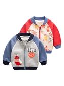 寶寶外套男春秋兒童棒球服3女童開衫潮1歲新生兒衣服純棉嬰兒秋裝