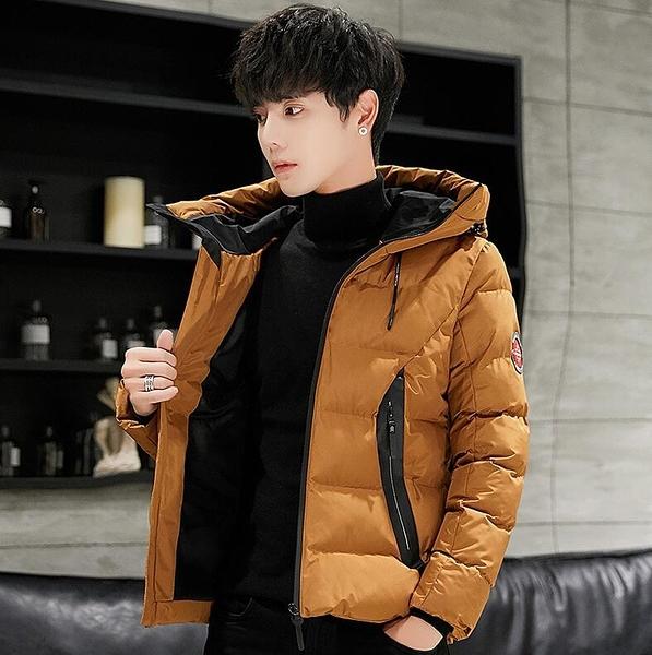 2019新款男款男生冬季外套 男士潮流百搭型男棉衣外衣 夾克冬天加絨冬天加厚休閒上衣