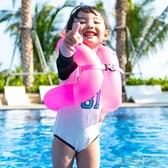 【快出】兒童泳圈 游泳圈兒童寶寶泳圈大人腋下小孩充氣救生衣浮力背心式學游泳裝備