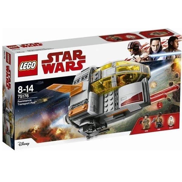 【南紡購物中心】【LEGO 樂高積木】星際大戰Star Wars系列-Resistance Transport Pod75176