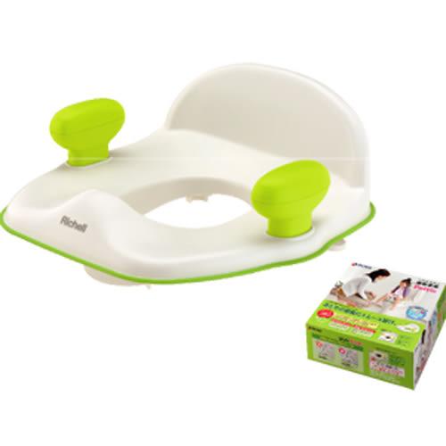 Richell利其爾 - Pottis 椅子型便器輔助便座 (橘)