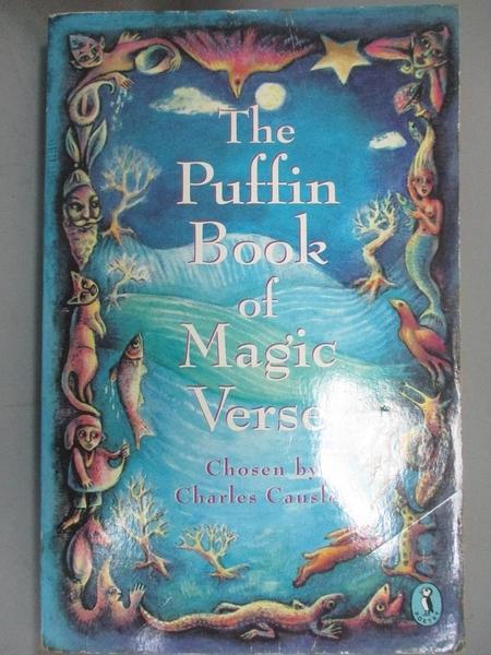 【書寶二手書T5/文學_GKV】The Puffin Book of Magic Verse_Charles Causley