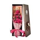花束 感恩母親節禮物11朵康乃馨禮盒送媽媽女生日送長輩仿真花禮物