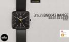德國百靈 Braun BN0042 腕錶 極簡系列 黑色 皮革錶帶 iF設計大獎