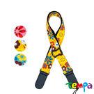 【Tempa】烏克麗麗背帶-花系 (顏色隨機)
