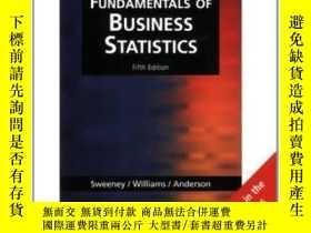 二手書博民逛書店Fundamentals罕見Of Business Statistics, International Editi