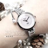 ALBA雅柏錶 SOLAR太陽能 甜心女錶 藍寶石水晶鏡面 簡約鏡面 不銹鋼 女錶 粉紅 AY5001X1 AS01-X012P