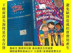 二手書博民逛書店the罕見mystery of the rainbow necklace彩虹項鏈之謎Y200392