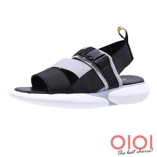 涼鞋 潮流個性休閒運動風涼鞋(灰)*0101shoes【18-A89gy】【現貨】