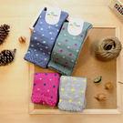 襪子 古著復古 日本氣質個性 SEIO 經典個性獨特圖型 低調可愛 三角形小圓點 襪子 (隨機出貨)