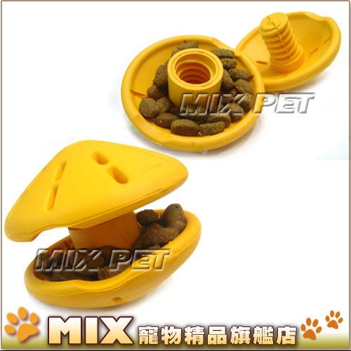 ◆MIX米克斯◆PREMIER.知遊玩具【飛碟S號紫色】kong益智玩具動腦抗憂鬱.