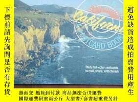 二手書博民逛書店CALIFORNIA罕見A POSTCARD BOOKY279372 ISBN:9780894718380