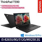 【ThinkPad】T590 20N4CTO2WW 15.6吋i5-8265U四核MX250 2G獨顯商務筆電(三年保固)