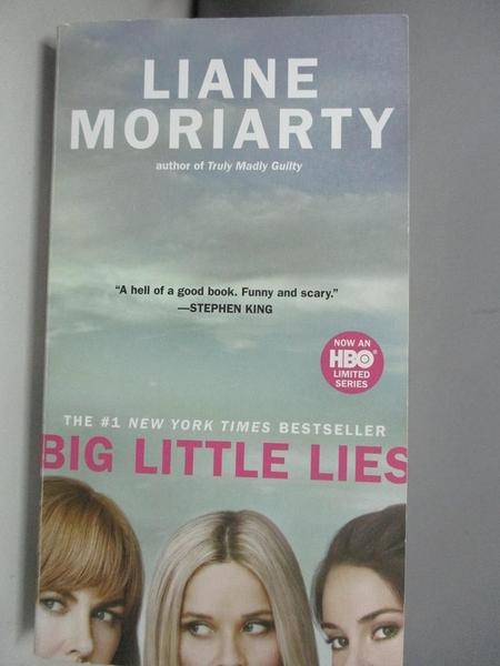 【書寶二手書T5/原文小說_ASD】Big Little Lies_Moriarty, Liane