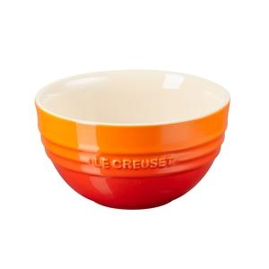 Le Creuset韓式飯碗-火焰橘