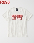 AF A&F Abercrombie & Fitch A & F 男 當季最新現貨 短袖T恤 AF R896