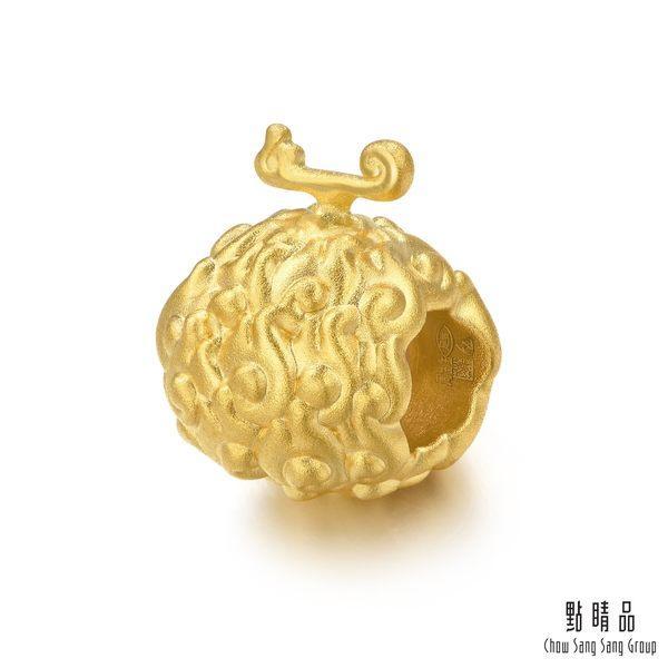 點睛品 Charme 航海王One-Piece系列 惡魔果實-燒燒果實 黃金串珠