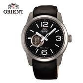 ORIENT 東方錶 SEMI-SKELETON 系列 運動型半鏤空機械錶 皮帶款 FDB0C003B 黑色 - 42.5mm