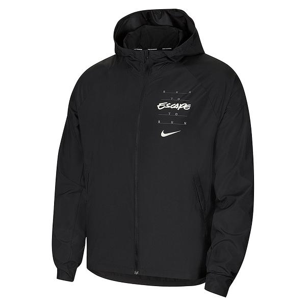 Nike AS Essntl JKT Wild Run GX 男 黑 運動 休閒 外套 DA1167-010