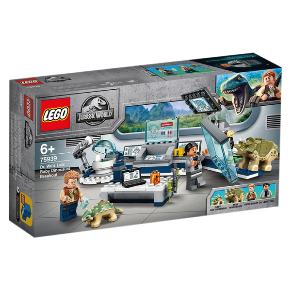 樂高積木Lego 75939 Dr. Wu's Lab: Baby Dinosaurs Breakout