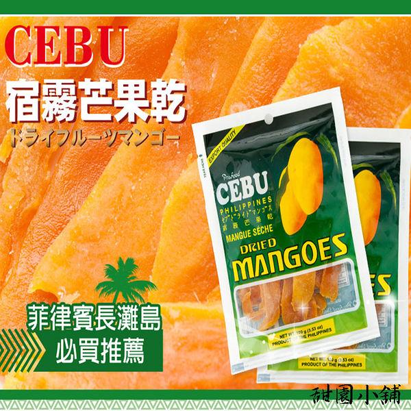 CEBU 菲律賓宿霧芒果乾(100g) 甜園小舖