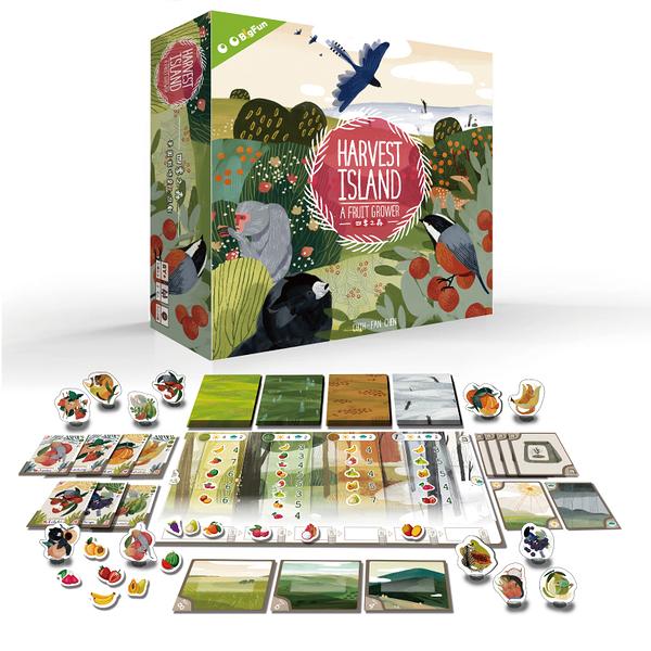 『高雄龐奇桌遊』四季之森 Harvest Island 繁體中文版 正版桌上遊戲專賣店