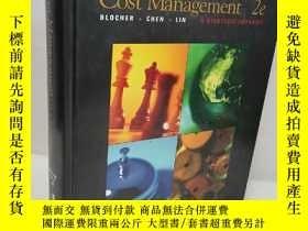 二手書博民逛書店Cost罕見management: A strategic emphasisY22565 BLOCHER CH
