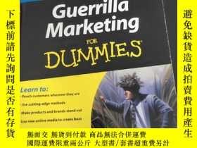 二手書博民逛書店guerrilla罕見marketing for dummies