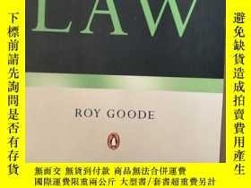 二手書博民逛書店COMMERCIAL罕見LAW ROY GOODEY7353 RoyGoode著 PENGUIN BOOKS
