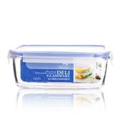 微波爐專用耐熱鋼化玻璃飯盒學生餐盒便當盒密封玻璃碗帶蓋保鮮盒 萬客城