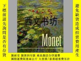 二手書博民逛書店【罕見】1995年出版 Monet: Late Painting