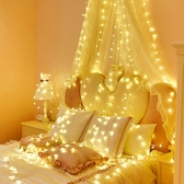 LED小彩燈閃燈串燈滿天星少女房間裝飾品燈飾網紅浪漫布置星星燈  免運快速出貨