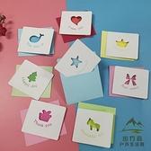 100張 生日賀卡迷你小卡片感恩祝福留言卡片紙手寫【步行者戶外生活館】