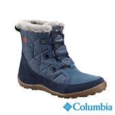 Columbia 女 防水保暖雪鞋-墨藍色 【GO WILD】
