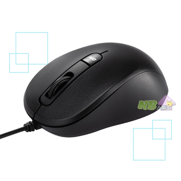 ASUS 華碩 藍光 靜音 有線 滑鼠 (MU101C)