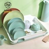 【新加坡CITYLIFE】奈米抗菌PP碗盤瀝水架(附集水盤)