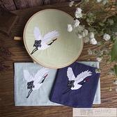 手工刺繡手帕絹 古風 繡花材料包套件diy自己繡 送男女友的禮物  母親節特惠