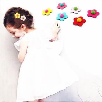 easy 韓版可愛無痕魔法花朵瀏海貼(小)瀏海便利魔法氈 前髮貼 魔鬼氈-1入_樂馨生活館