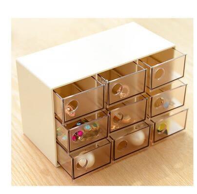 三層 多功能首飾盒歐式手飾盒 飾品盒耳環收納盒 戒指耳釘收納盒【只賣一天】