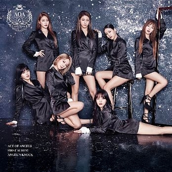 AOA ANGEL'S KNOCK 台灣獨占B版 CD+DVD (購潮8)