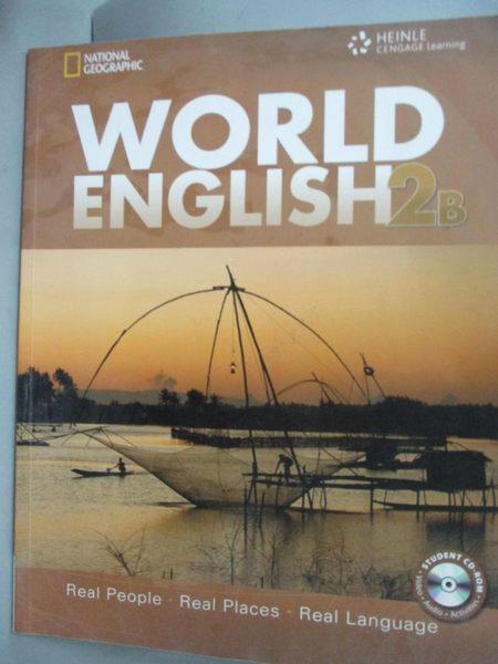 【書寶二手書T4/攝影_ZKD】World English 2: Combo Split B with Student
