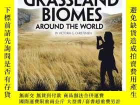 二手書博民逛書店Grassland罕見Biomes Around the Wor