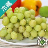 【美國】鮮甜綠無籽葡萄(500G±5%)/盒【愛買冷藏】