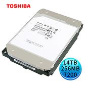 Toshiba 企業碟 14TB 3.5吋 內接硬碟 MG07ACA14TE