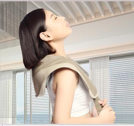 按摩披肩肩頸捶打頸椎按摩器肩膀頸部腰部捶背家用頸肩樂 XY1724  【男人與流行】 TM