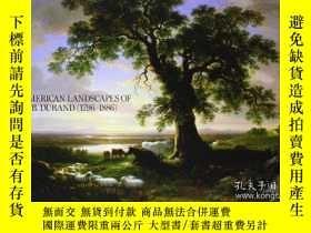 二手書博民逛書店The罕見American Landscapes Of Asher B. DurandY255562 Lind