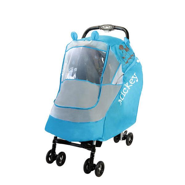 【ViVibaby】迪士尼推車防風/防雨罩(米奇藍DSU30410)(維尼黃DSU30415)