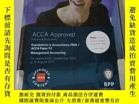 二手書博民逛書店ACCA罕見Approved practice and Revision kit:ACCA認可的練習和復習手冊(外
