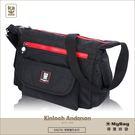 Kinloch Anderson 金安德森 側背包 極簡耀色 休閒機能側背包 黑色 KA174311 得意時袋